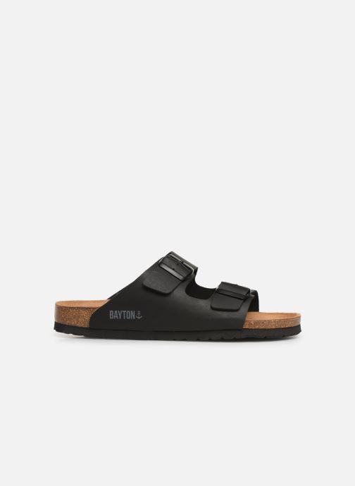 Sandales et nu-pieds Bayton Atlas Noir vue derrière