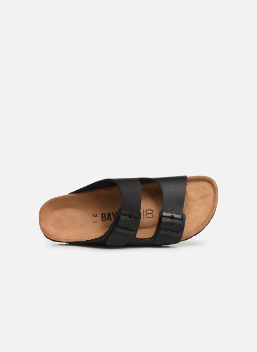 Sandales et nu-pieds Bayton Atlas Noir vue gauche