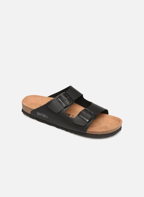 Sandales et nu-pieds Bayton Atlas Noir vue détail/paire