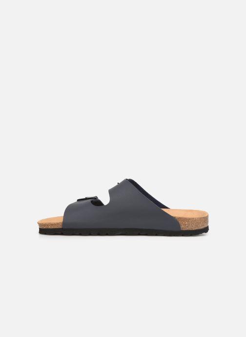Sandales et nu-pieds Bayton Atlas Gris vue face