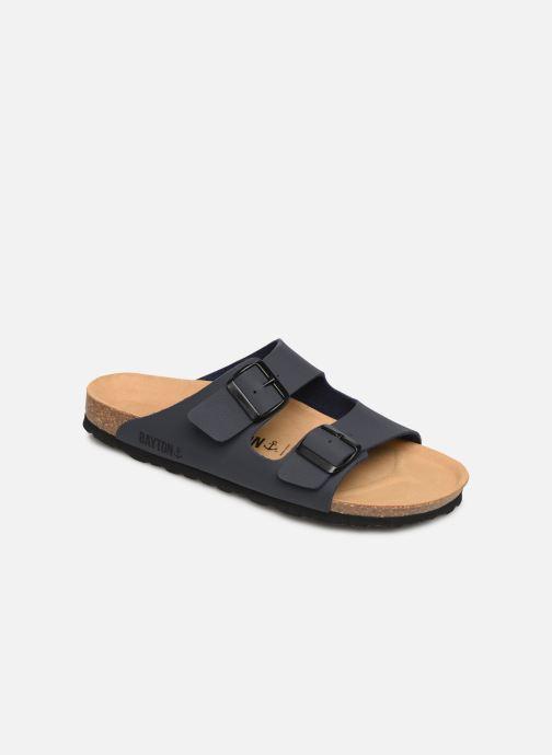 Sandales et nu-pieds Bayton Atlas Gris vue détail/paire