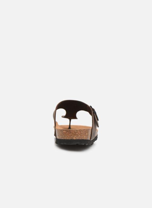 Sandales et nu-pieds Bayton Mercure Marron vue droite