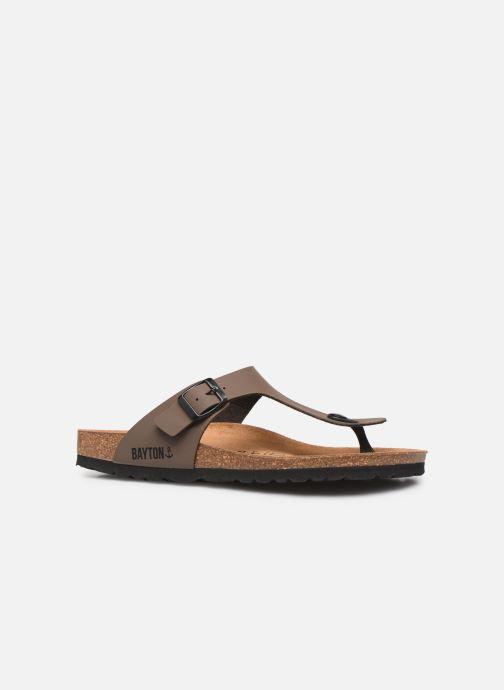 Sandales et nu-pieds Bayton Mercure Marron vue derrière