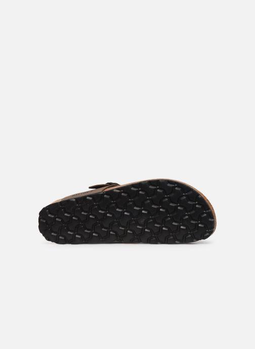 Sandales et nu-pieds Bayton Mercure Marron vue haut
