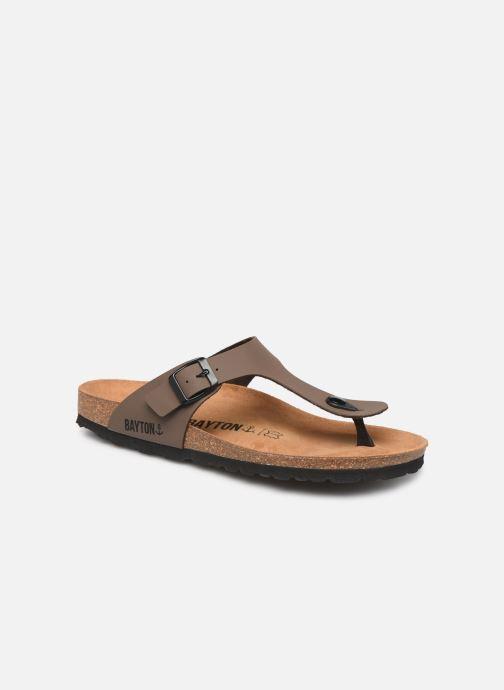 Sandales et nu-pieds Bayton Mercure Marron vue détail/paire