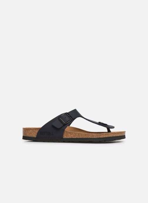 Sandales et nu-pieds Bayton Mercure Bleu vue derrière