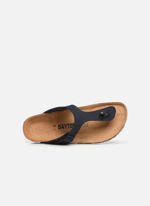 Sandales et nu-pieds Bayton Mercure Bleu vue gauche