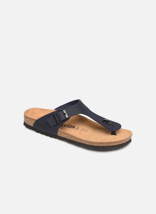 Sandales et nu-pieds Bayton Mercure Bleu vue détail/paire