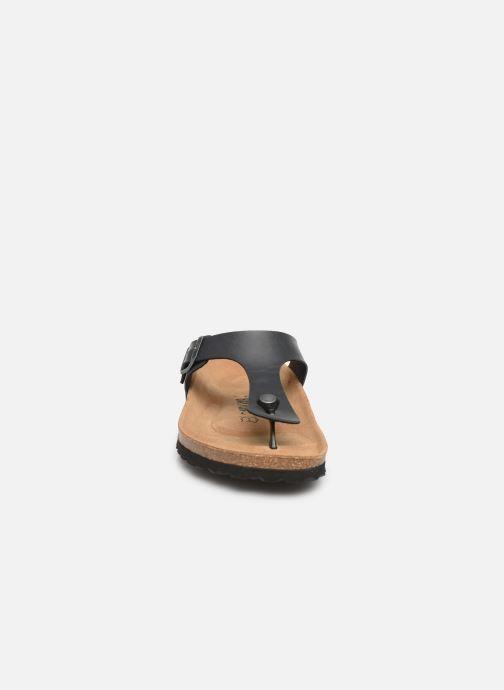 Sandales et nu-pieds Bayton Mercure Gris vue portées chaussures