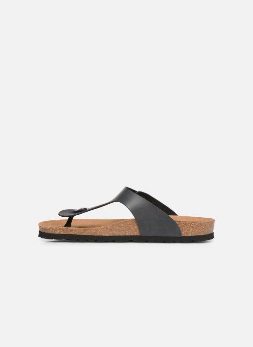 Sandales et nu-pieds Bayton Mercure Gris vue face