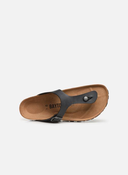 Sandales et nu-pieds Bayton Mercure Gris vue gauche