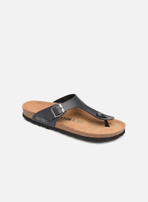 Sandales et nu-pieds Bayton Mercure Gris vue détail/paire