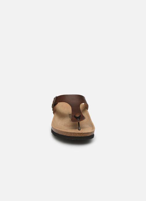 Sandalen Bayton Mercure braun schuhe getragen