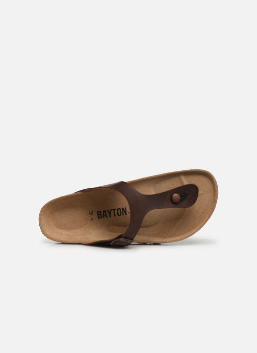 Sandalen Bayton Mercure braun ansicht von links