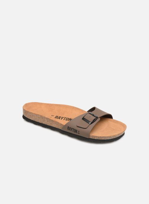Sandales et nu-pieds Bayton Zephyr M Marron vue détail/paire