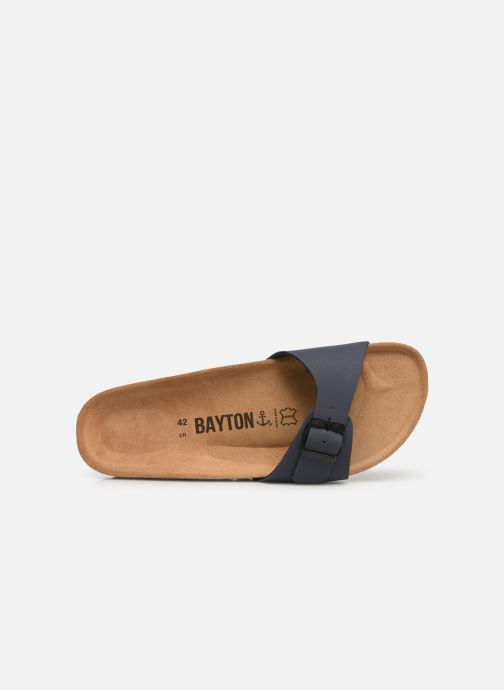Sandalias Bayton Zephyr M Azul vista lateral izquierda
