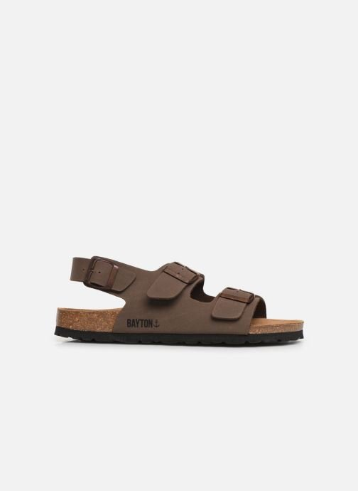Sandals Bayton Achille Brown back view