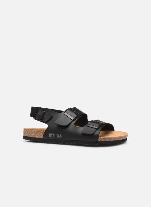 Sandales et nu-pieds Bayton Achille Noir vue derrière