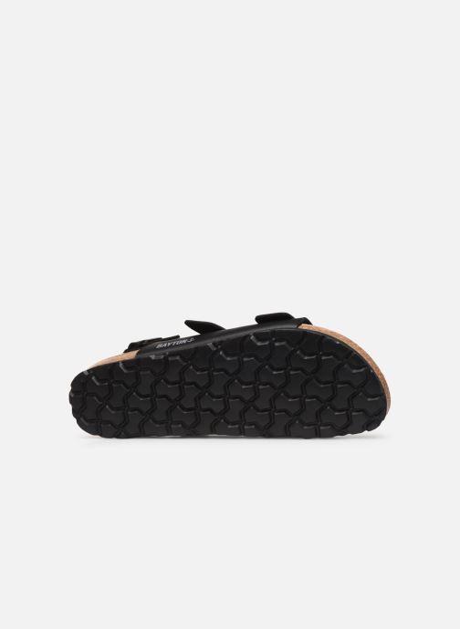Sandales et nu-pieds Bayton Achille Noir vue haut