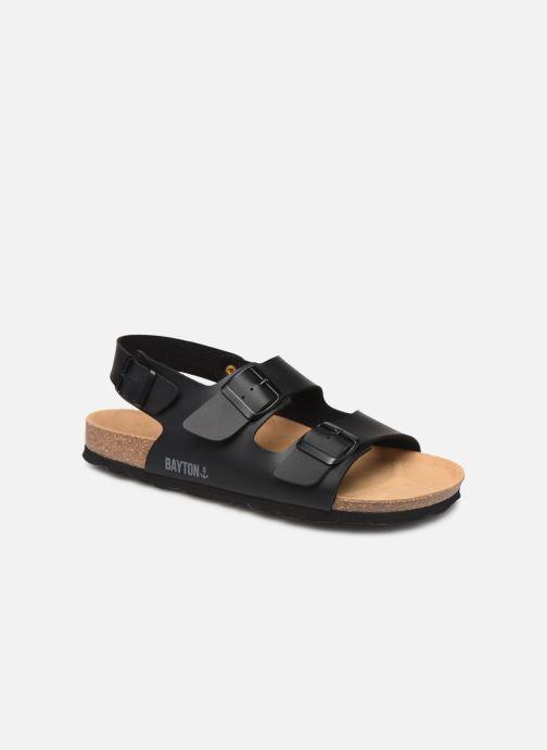 Sandales et nu-pieds Bayton Achille Noir vue détail/paire