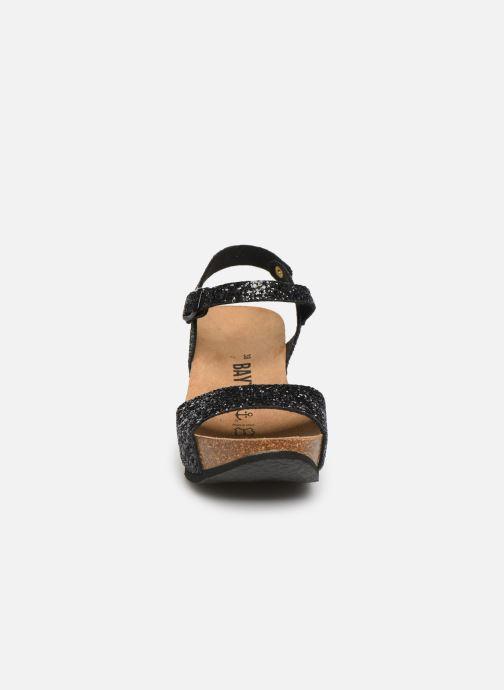 Sandales et nu-pieds Bayton Maya Noir vue portées chaussures
