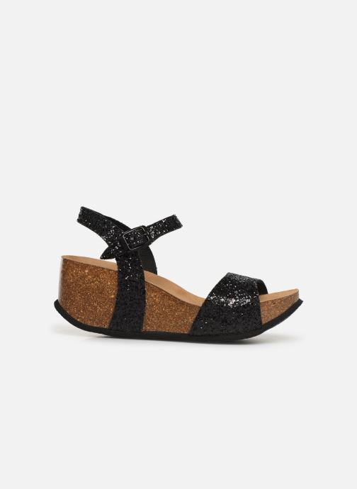 Sandales et nu-pieds Bayton Maya Noir vue derrière