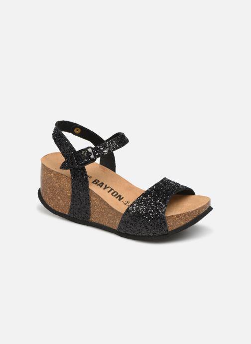 Sandales et nu-pieds Bayton Maya Noir vue détail/paire