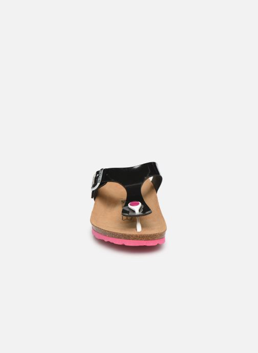 Mules et sabots Bayton Mercure W Noir vue portées chaussures