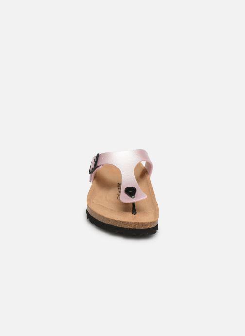 Mules et sabots Bayton Mercure W Rose vue portées chaussures