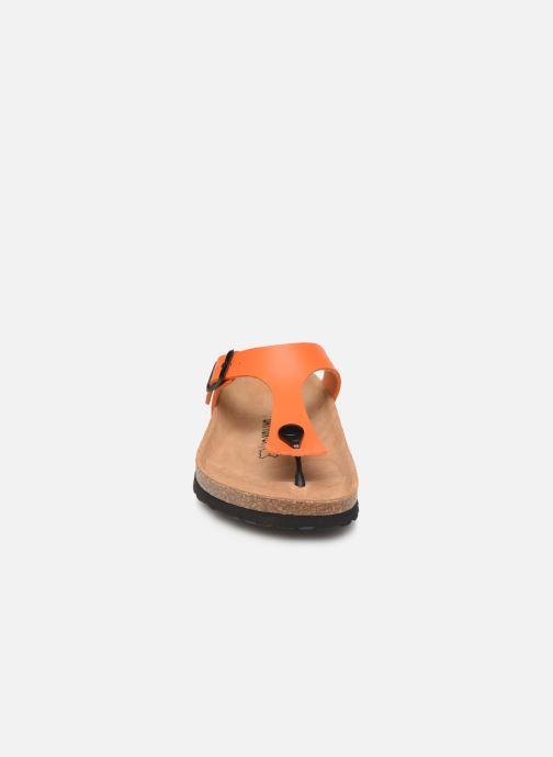 Mules et sabots Bayton Mercure W Orange vue portées chaussures