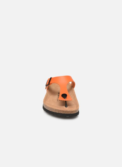 Clogs & Pantoletten Bayton Mercure W orange schuhe getragen