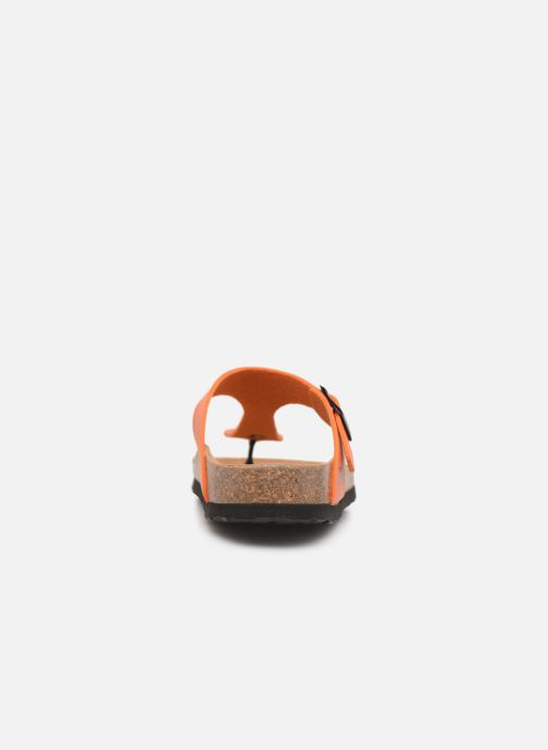 Mules et sabots Bayton Mercure W Orange vue droite