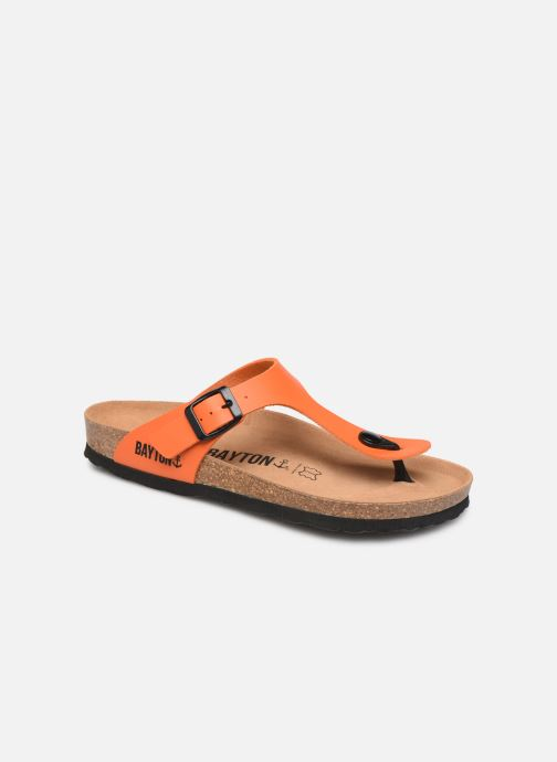 Mules et sabots Bayton Mercure W Orange vue détail/paire