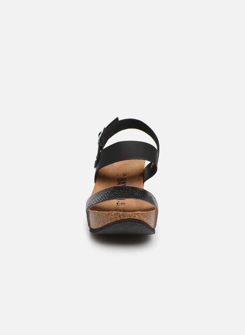 Sandales et nu-pieds Bayton Selene Noir vue portées chaussures
