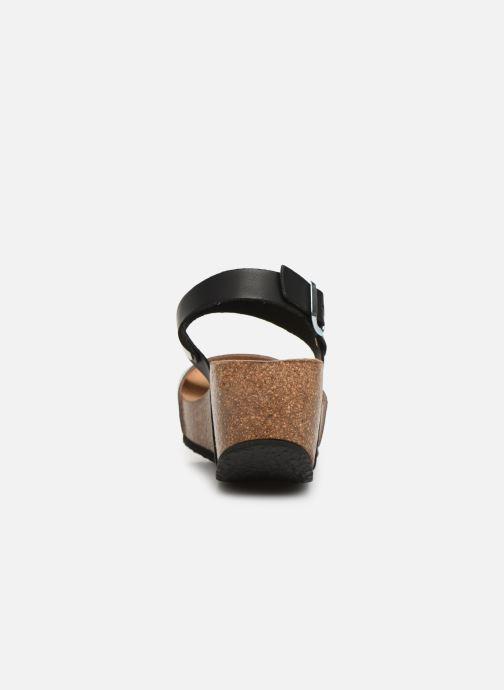 Sandales et nu-pieds Bayton Selene Noir vue droite