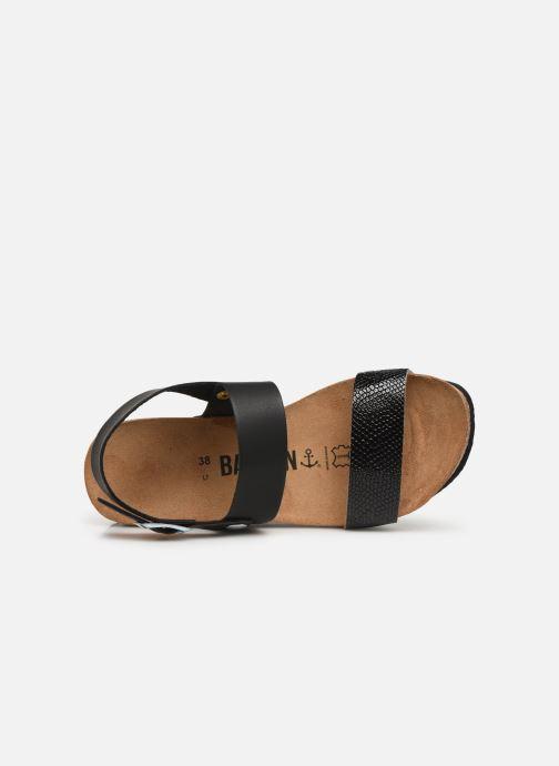 Sandales et nu-pieds Bayton Selene Noir vue gauche