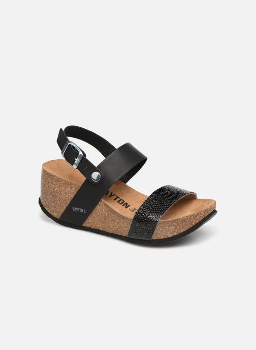 Sandales et nu-pieds Bayton Selene Noir vue détail/paire