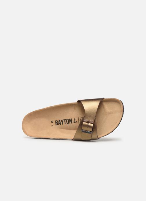 Mules et sabots Bayton Zephyr W Or et bronze vue gauche