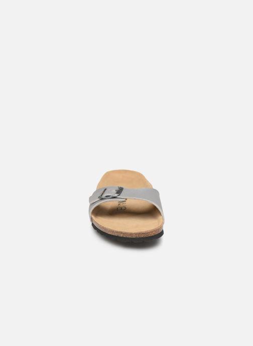 Mules et sabots Bayton Zephyr W Gris vue portées chaussures