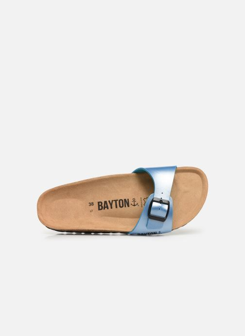 Mules et sabots Bayton Zephyr W Bleu vue gauche