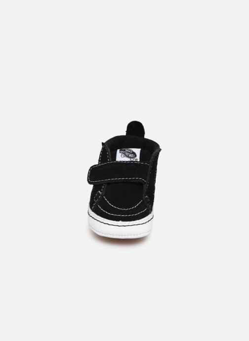 Sneakers Vans Children Classic I-Infant Nero modello indossato