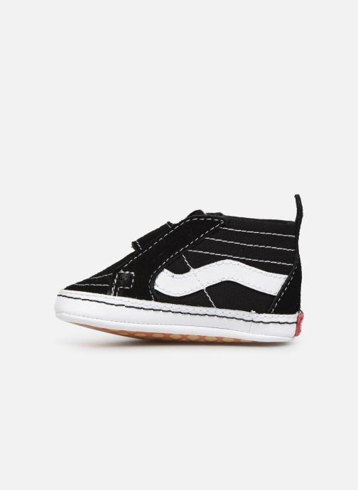 Sneaker Vans Children Classic I-Infant schwarz ansicht von vorne