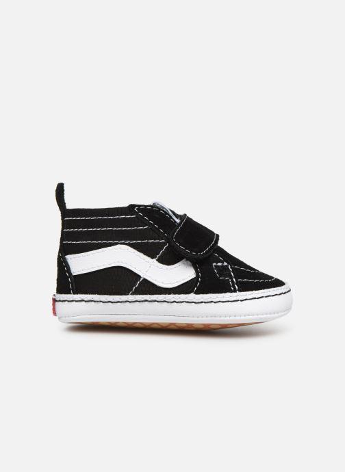 Sneaker Vans Children Classic I-Infant schwarz ansicht von hinten