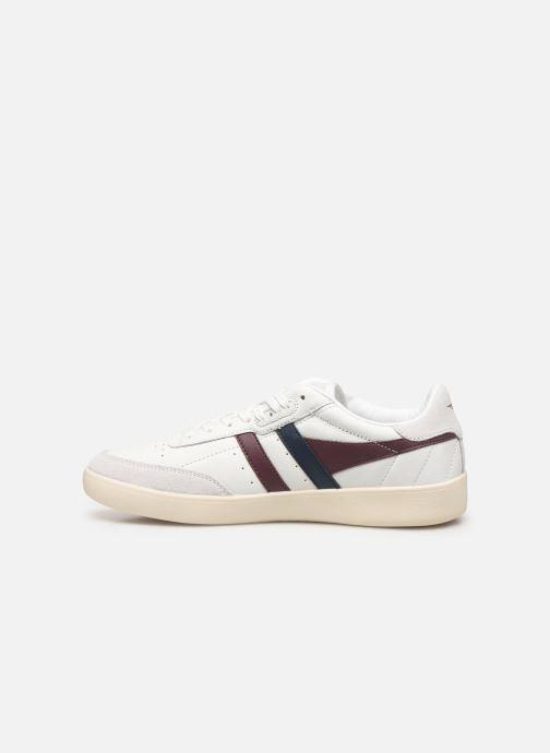 Baskets Gola Inca Leather Blanc vue face