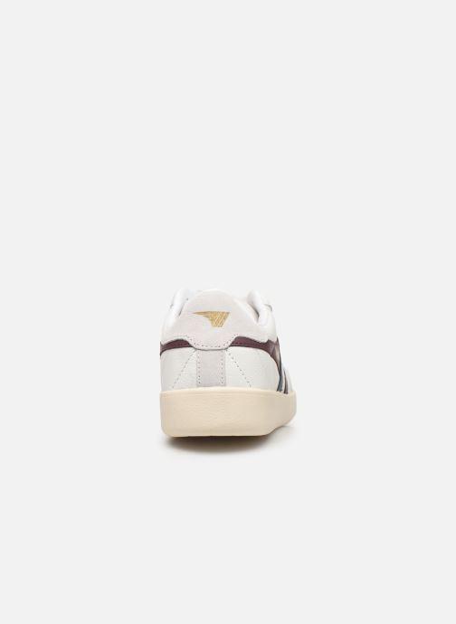 Baskets Gola Inca Leather Blanc vue droite