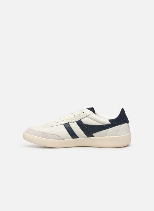 Sneakers Gola Inca Leather Bianco immagine frontale