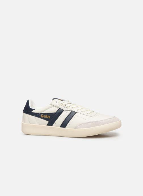 Baskets Gola Inca Leather Blanc vue derrière