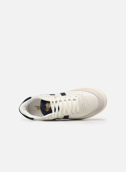 Sneakers Gola Inca Leather Bianco immagine sinistra