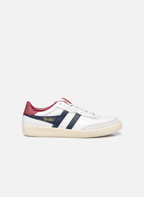 Sneaker Gola Inca Leather weiß ansicht von hinten