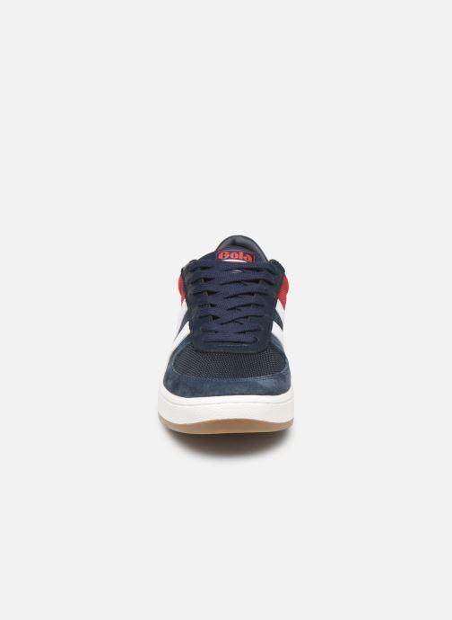 Baskets Gola Grandslam RWB Bleu vue portées chaussures